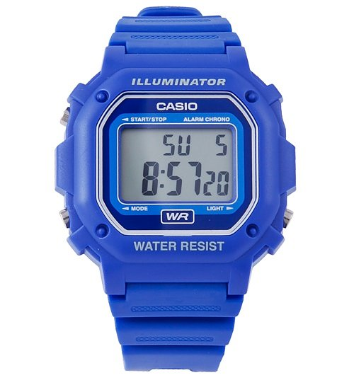 Blue Retro Illuminator Watch F-108WH-2AEF from Casio