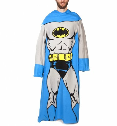 DC Comics Batman Muscle Print Snuggler