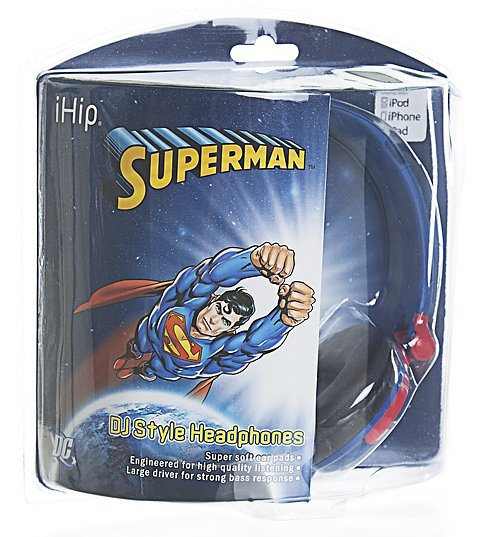 DC Superman Logo Headphones