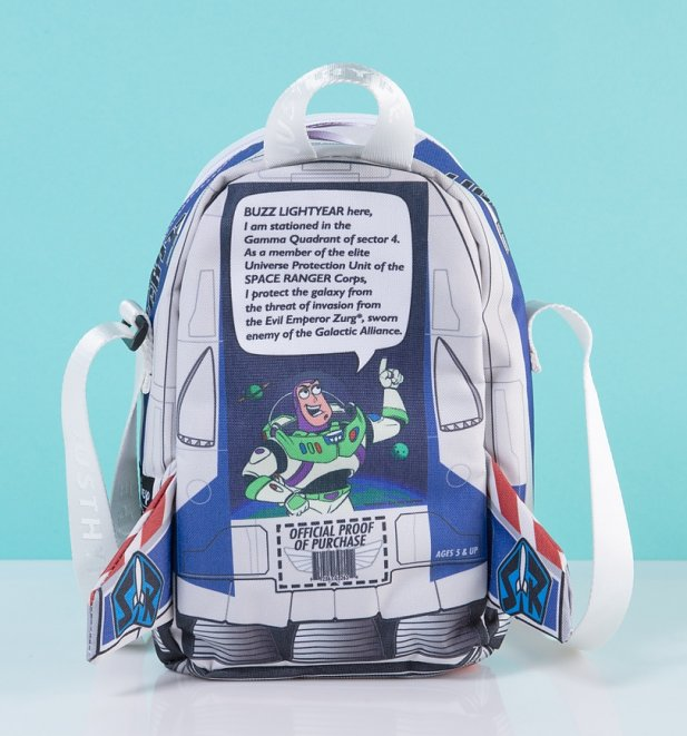 Disney Pixar Toy Story Buzz Lightyear Box Cross Body Bag from Hype