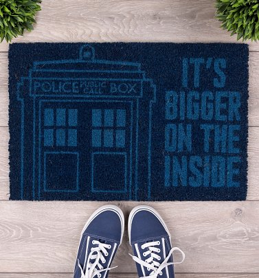 Doctor Who Tardis Door Mat