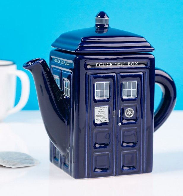 Doctor Who TARDIS Teapot