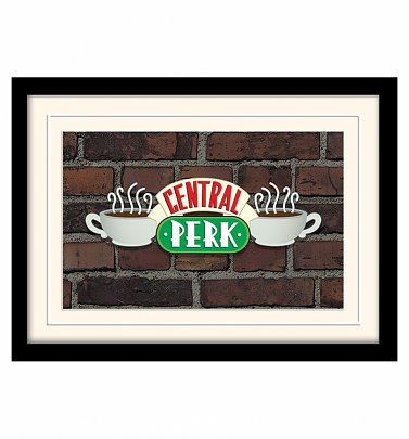 Friends Central Perk Framed Print 30cm x 40cm