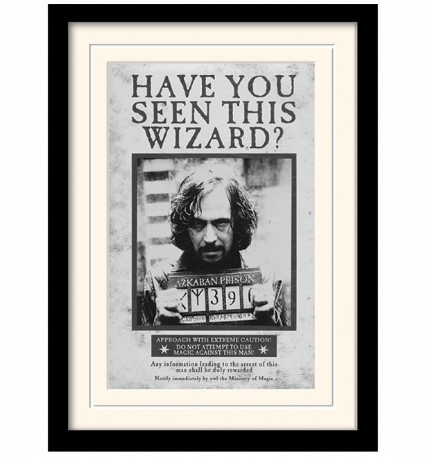 > Movies > Harry Potter > Harry Potter Sirius Black Wanted Poster ...