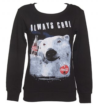 Women's Coca‑Cola Always Cool Polar Bear Sweater