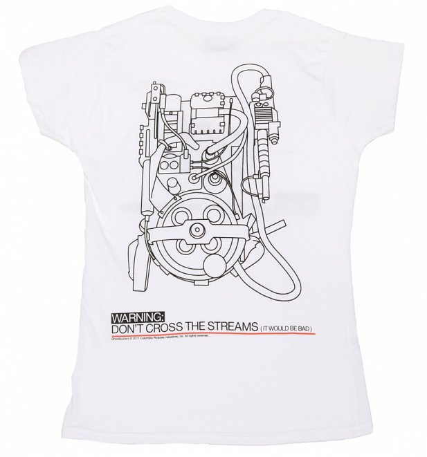 Women's Don't Cross The Streams Ghostbusters T-Shirt