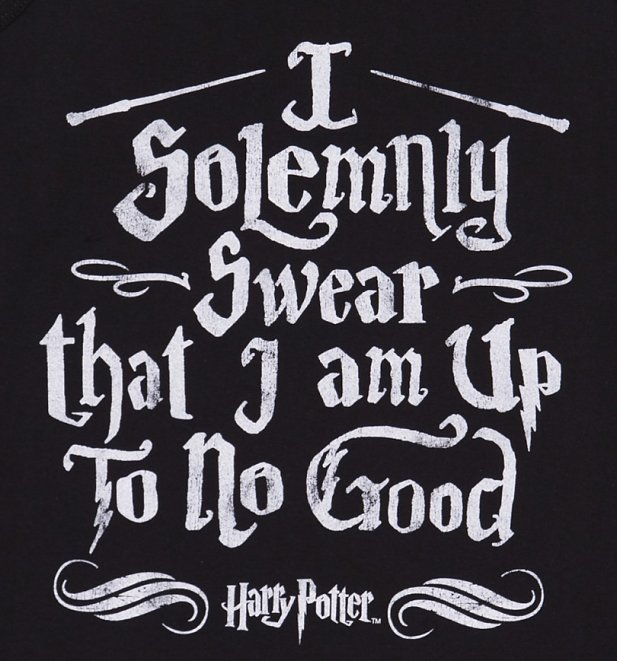 Women's Harry Potter I Solemnly Swear Mischief Managed Vest