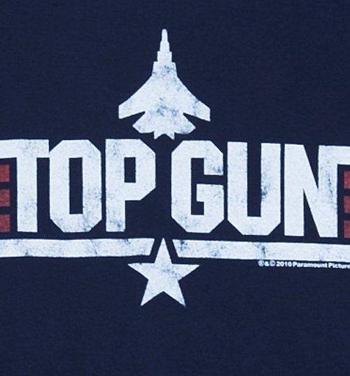 Women's Navy Top Gun Maverick T-Shirt