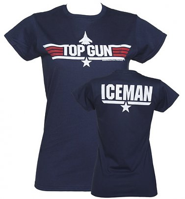 Top Gun - Iceman Damen T-Shirt