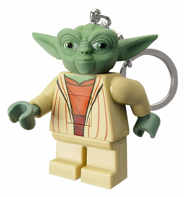lego yoda star wars key light. Black Bedroom Furniture Sets. Home Design Ideas