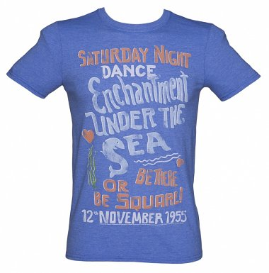 Men's Back to the Future Enchantment Under The Sea T-Shirt