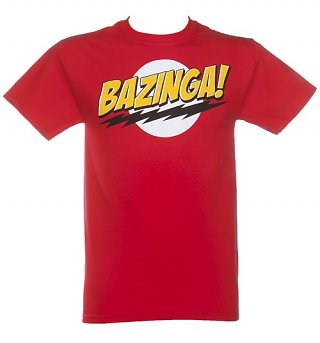 Men's Bazinga Big Bang Theory T-Shirt