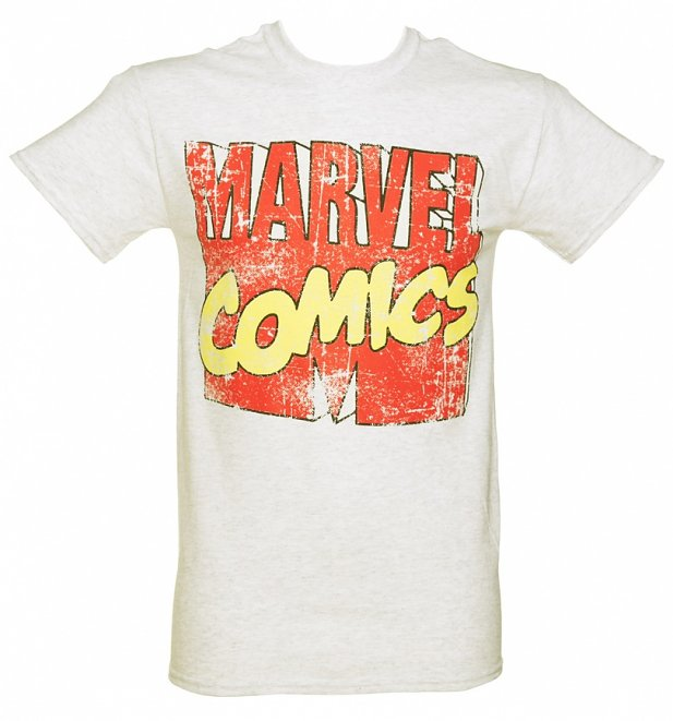 Marvel Comics Logo T-Shirt