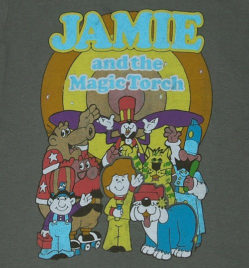 Men's Jamie And The Magic Torch T-Shirt