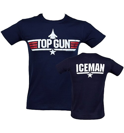 Men's Top Gun Iceman T-Shirt