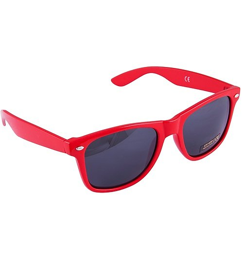 Red Way Farer Sunglasses