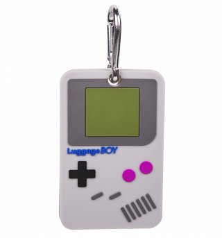 Retro Gamer Luggage Tag