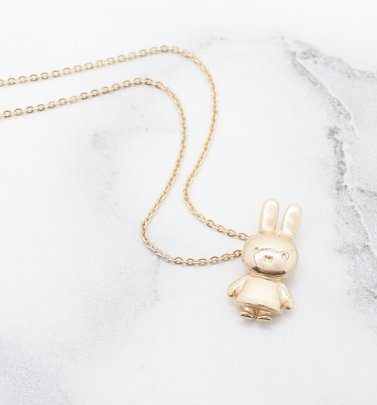 18ct Gold Vermeil Miffy Necklace