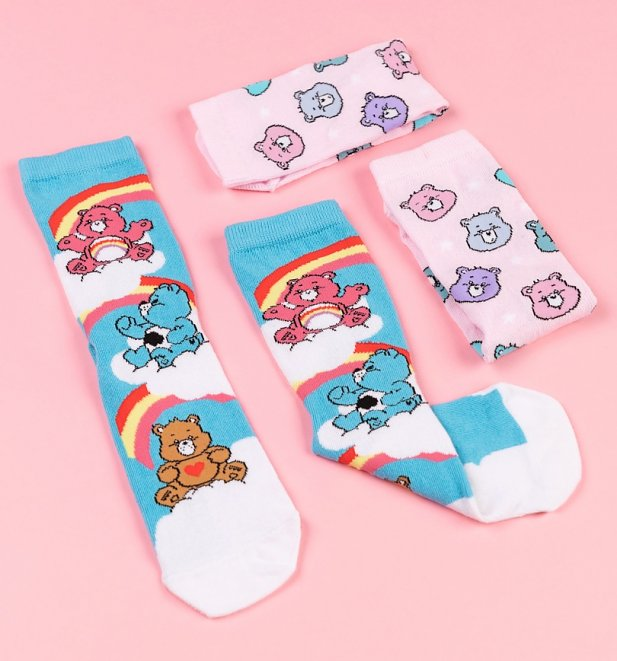 2pk Care Bears Socks