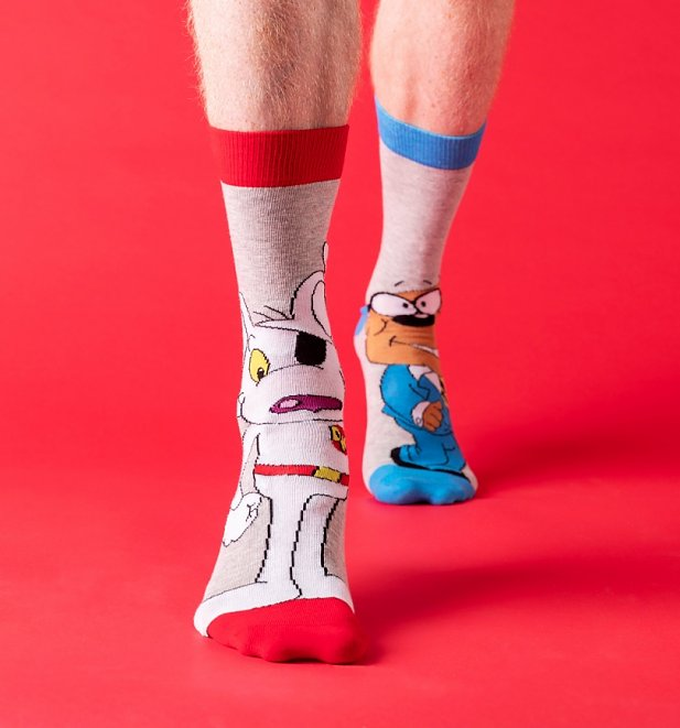 2pk Danger Mouse Socks