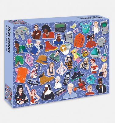 90s Icons 500 Piece Jigsaw Puzzle