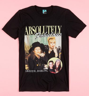 Absolutely Fabulous Black T-Shirt