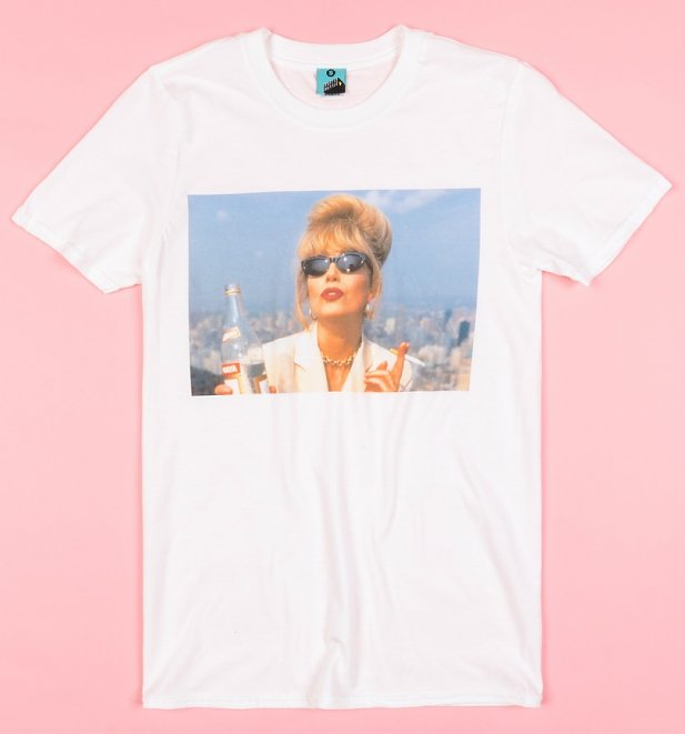 Absolutely Fabulous Patsy Screenshot White T-Shirt