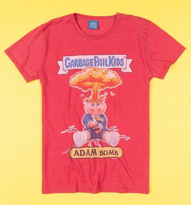 Adam Bomb Garbage Pail Kids T-Shirt