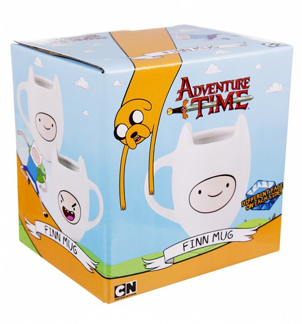 Adventure Time Finn 3D Mug