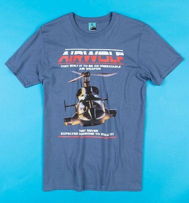 Airwolf Indigo Blue T-Shirt