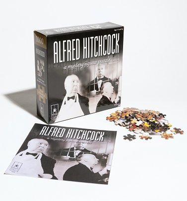 Alfred Hitchcock Mystery Puzzle