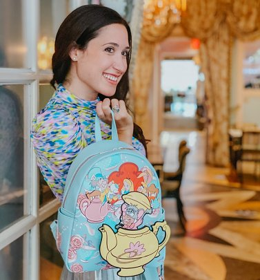 Alice In Wonderland Tea Party Disney Backpack from Danielle Nicole