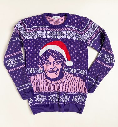 All I Want For Christmas Is Theroux Christmas Jumper from Not Just Clothing