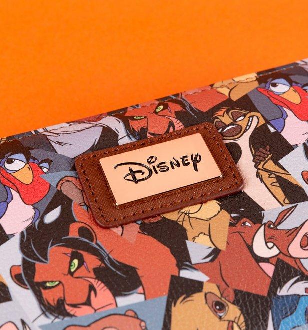 All Over Print Disney Lion King Wallet from Difuzed