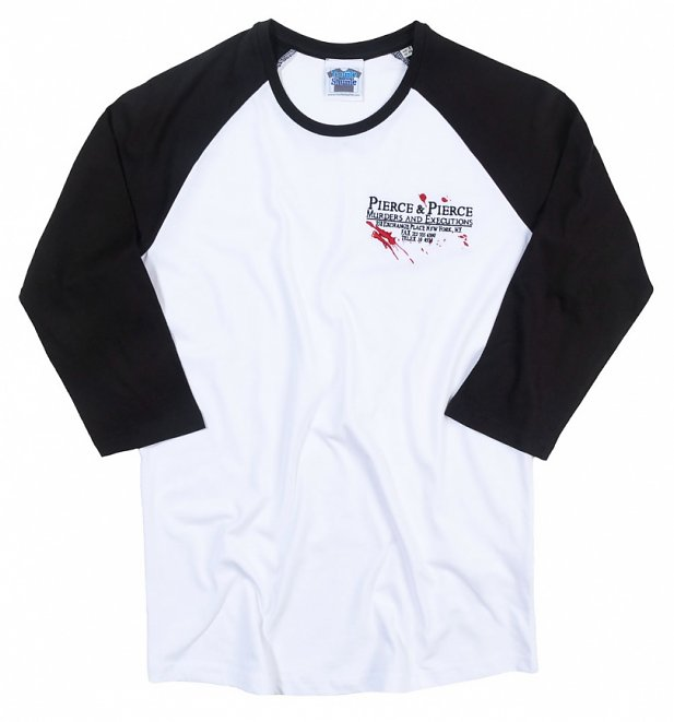 American Psycho Inspired Murders and Executions Embroidered Baseball Shirt