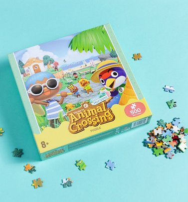 Animal Crossing 500 Piece Jigsaw Puzzle