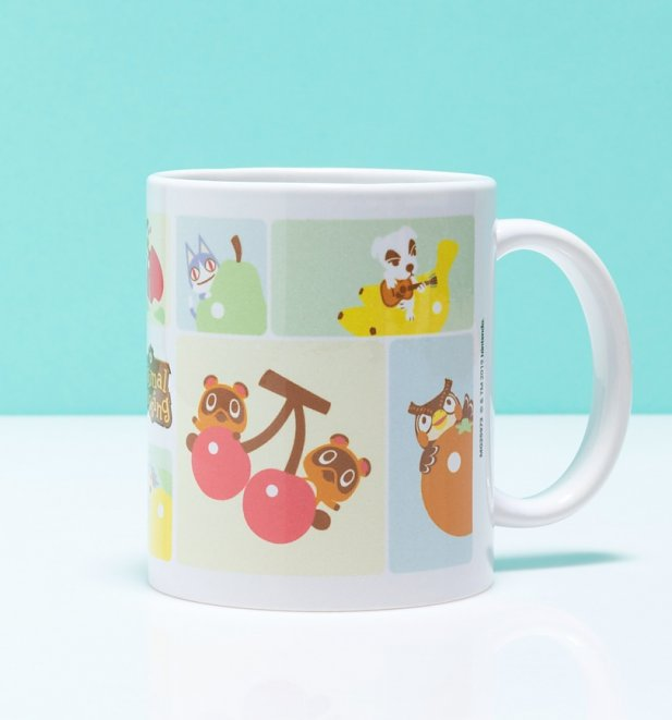 Animal Crossing Characters Grid Mug
