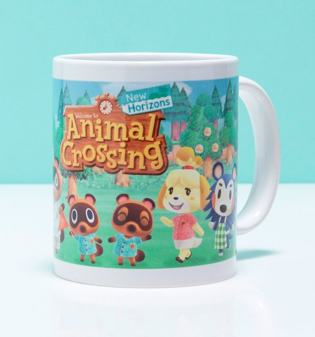 Animal Crossing Line Up Mug