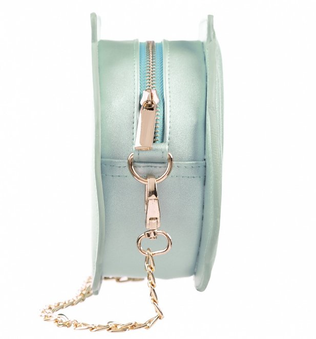Aqua Polly Pocket Shell Shaped Cross Body Bag