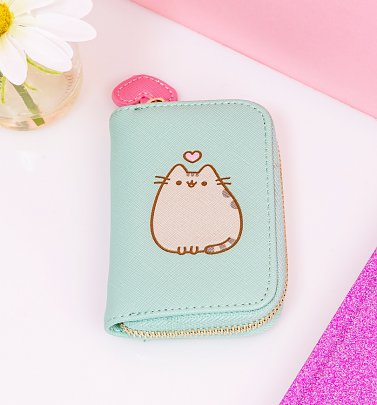 Aqua Pusheen Coin Purse from Difuzed