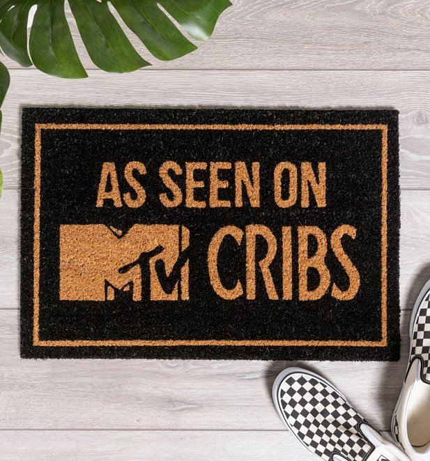 As Seen On MTV Cribs Door Mat