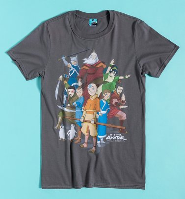 Avatar The Last Airbender Charcoal T-Shirt