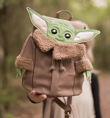 Baby Yoda Star Wars The Mandalorian The Child Figural Backpack from Danielle Nicole