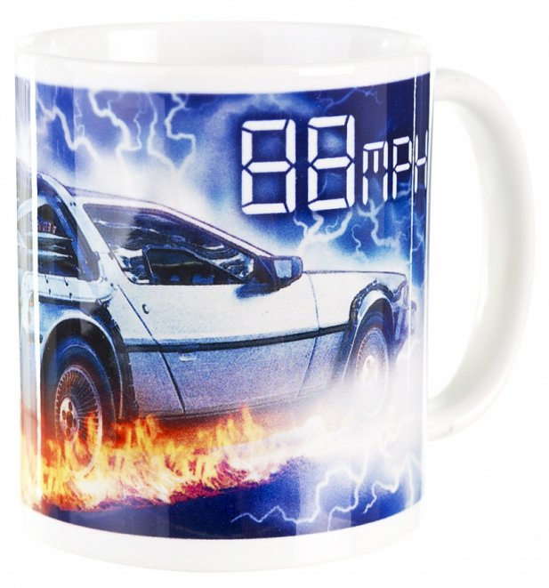 Back To The Future 88MPH Mug