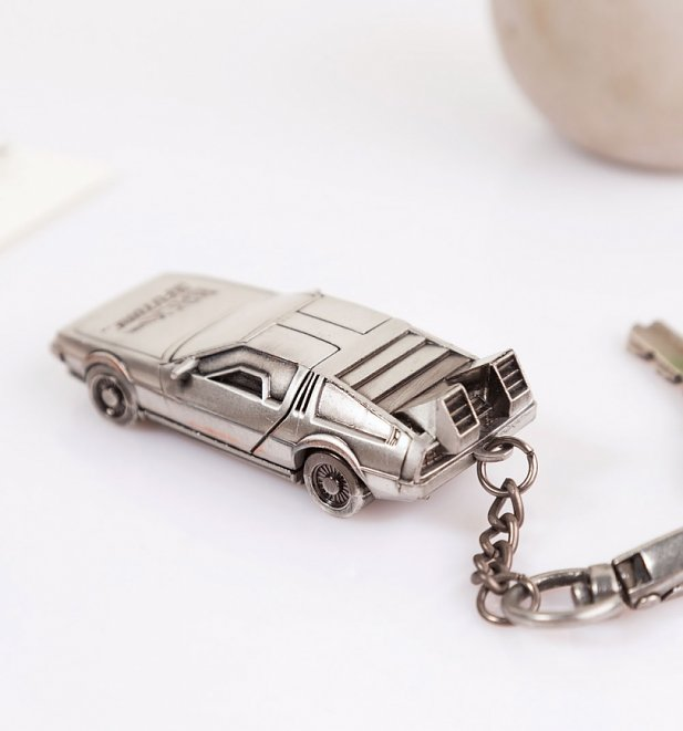 Back To The Future Delorean 3d Keyring