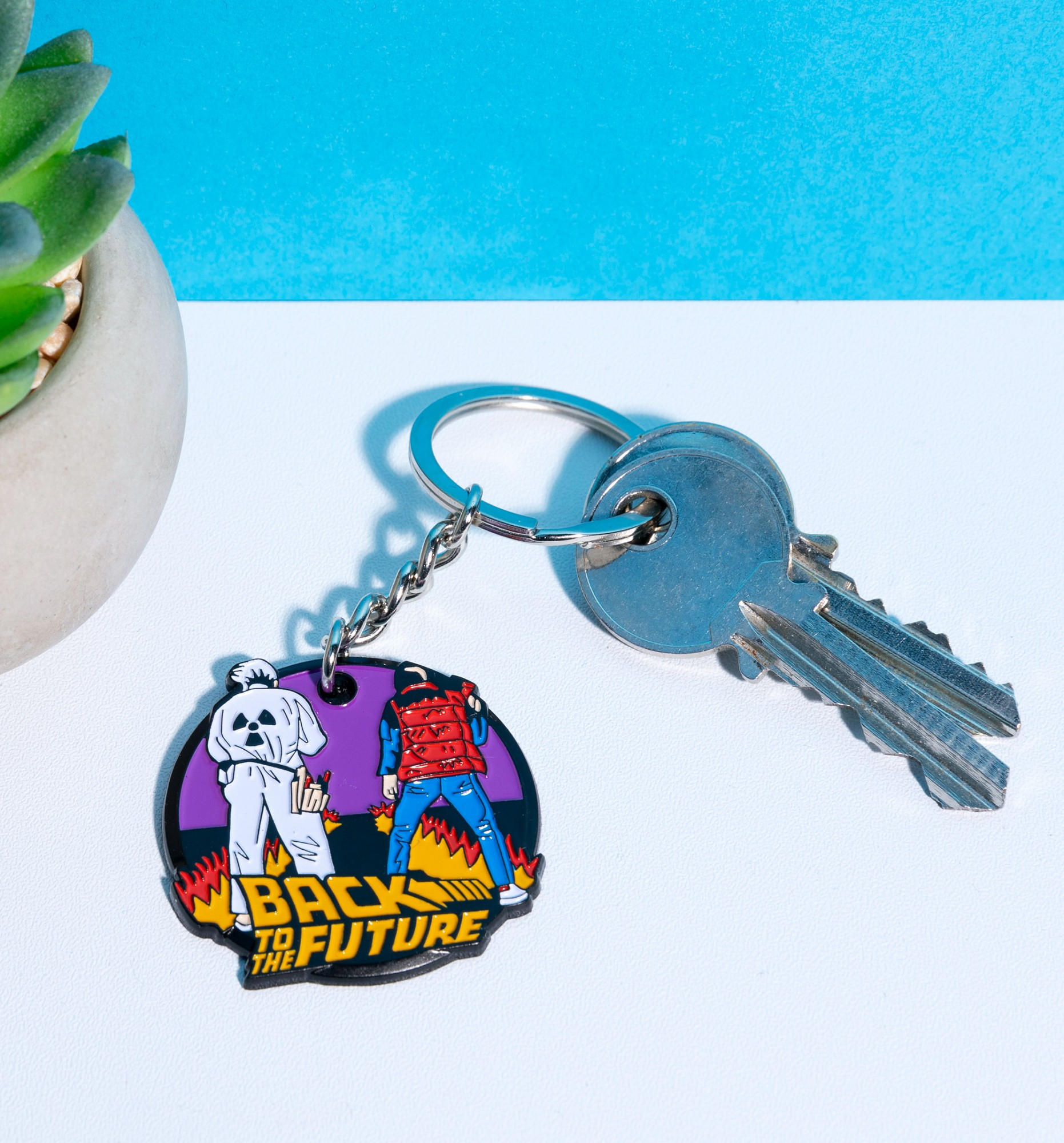 Cult Keyring From film The Wizard of Oz Retro