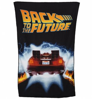 Back To The Future Microfibre Sports Towel
