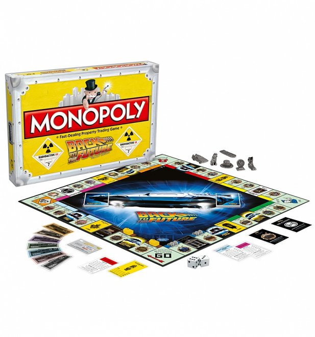 Back To The Future Monopoly Game Set