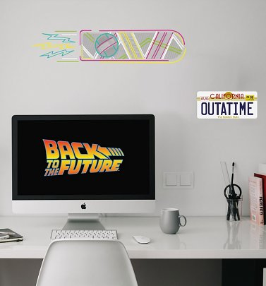 Back To The Future Wall Decals