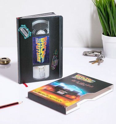 Back to the Future VHS Notebook